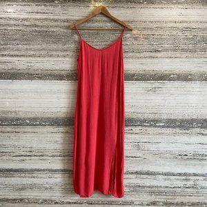 Marks & Spencer Pencil Dress Red Size 38
